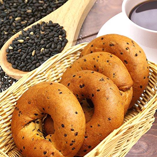 ベーグル 糖質 低糖質パン ごまベーグル(1袋8個入り) 糖質オフ 糖質制限 低糖パン 低糖質パン 糖質 食品 糖質カット 1個あたり糖質3.4g 低糖質ごまベーグル