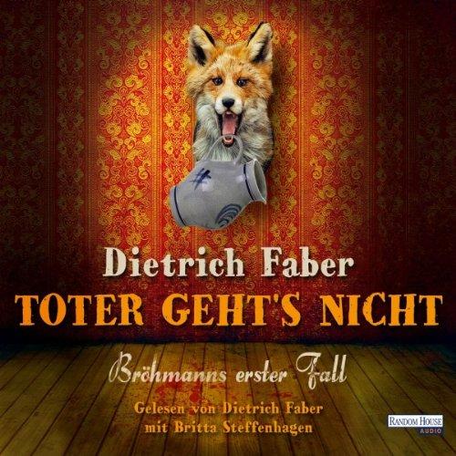 Toter geht's nicht audiobook cover art