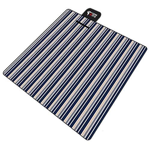 Happy Time Tapis de Plage Mat Tapis Portable Tapis de Pique-Niquet Tapis de Pique-niquer Mat Tapis de pelouse, 200cm * 200cm,b