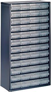 Raaco 1248-01 - Cajonera (acero, 48 cajones), color azul