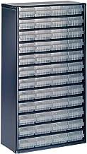 Raaco Lademagazijn 1248-01 staal 48 laden blauw werkplaatskast
