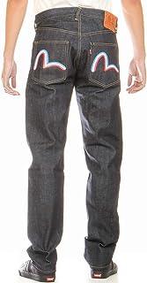 エヴィスジーンズ 38~42in ユーロ フランス カモメ No2 2000 裾上げ可 かもめ レギュラーストレート ヴィンテージデニム EVISU JEANS FRANCE KAMOME LIMITED MODEL