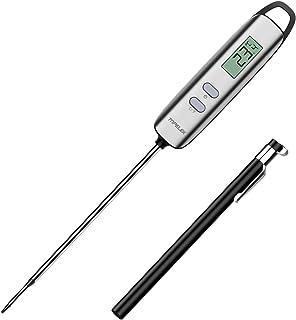 Habor Termómetro de Cocina Digital con Pantalla LCD, Funda