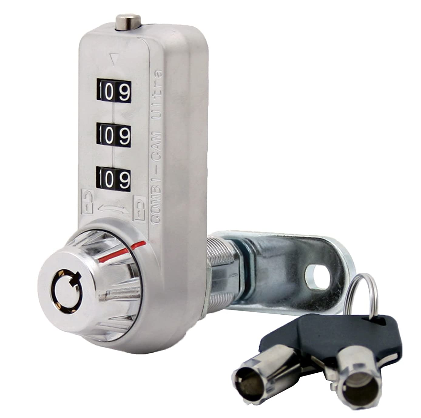 Combi-Cam Ultra, 7440M & Keys, Combination Cam Lock with Master Key Override, 7/8