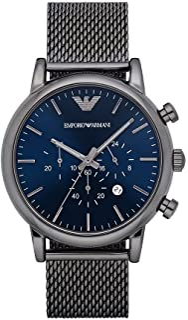 Emporio Armani Gents Wrist Watch, Grey AR1979