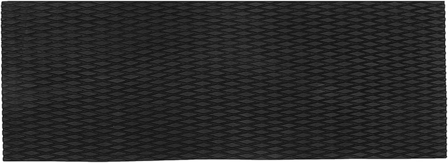 lxxiulirzeu Scooter de Agua sin Patinar Pisos Marinos sintético EVA Hoja de Espuma 37x92cm Jet-Ski Negro Surfboard Mat Mat Emberble Skis Slip (Color : Black)
