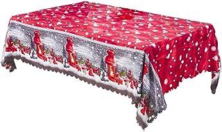 Boburyl Mantel Decorativo Decoración Manteles de Navidad de