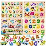 Puzzles de Madera juguetes,Puzzle de Madera, puzzles madera 2 años, Rompecabezas madera, Juguetes...