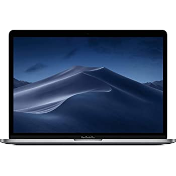 "Apple 13"" MacBook Pro Retina, Touch Bar, 2.3GHz Quad-Core Intel Core i5, 8GB RAM, 256GB SSD - Space Gray (Renewed)"
