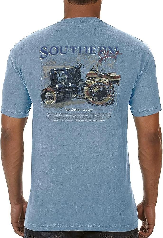 SOUTHERN STRUT Men's Short Sleeve Cotton Crewneck T-Shirt