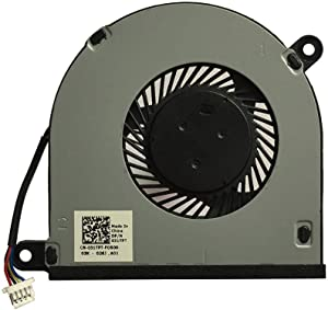 PYDDIN Cooling Fan Replacement for Dell Inspiron 13 5379 5378 5368 7378 Inspiron 15 5579 5578 7579 CPU Fan CN-031TPT 4-Wire