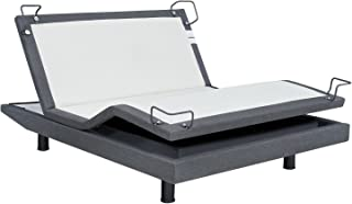 Reverie iDealBed Signature 8i Adjustable Bed Base, Queen, Wireless, Massage, Wall Hugger, Bluetooth