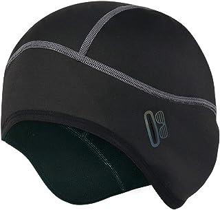 Winter Skull Cap Helmet Liner with Glasses Holes,Fits Under Helmets