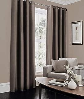 Best brown silk curtains Reviews