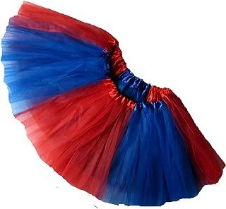 Southern Wrag Company Adult Team Spirit Tutu RED Royal Blue Sizes S-XXL