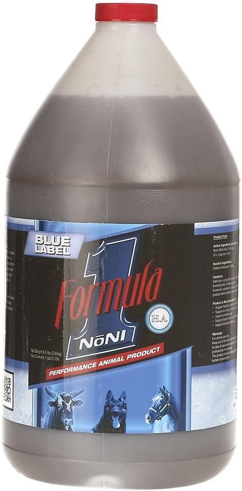 5 popular Formula 1 Noni Blue Save money Gallon Label