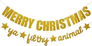 Best merry christmas you filthy animal banner Reviews