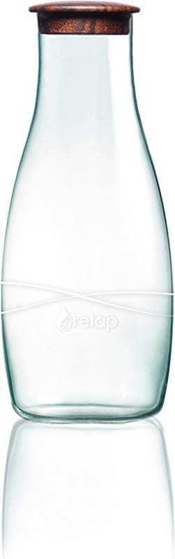 Retap Borosilicate Glass Water Wine Carafe Pitcher With Lid