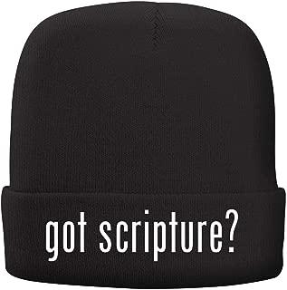 BH Cool Designs got Scripture? - Adult Comfortable Fleece Lined Beanie