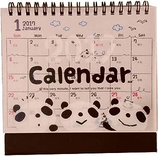 2016 Cartoon Animal Desktop Calendar Bilingual Calendar [Cute Panda]
