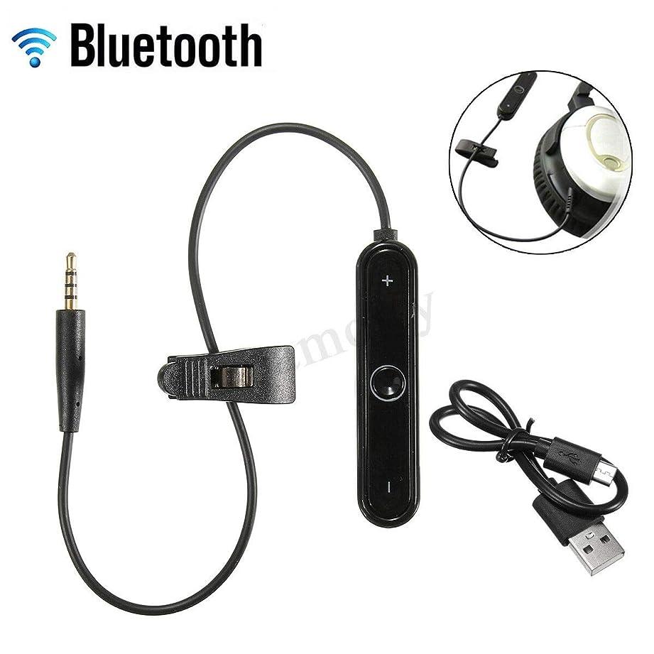 小川観察するヤギDSstyles Bluetooth4.1 ワイヤレスアダプターケーブルレシーバー OE2 OE2i OE QC25 ヘッドホン用