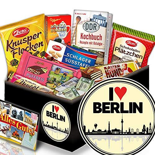 I love Berlin - Geschenkbox I love Berlin - Ost-Paket Schokolade