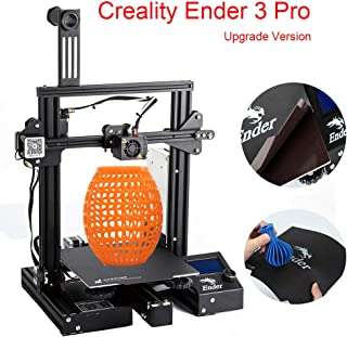 "Creality Ender 3 Pro DIY 3D Printer with Removable Magnetic Bed and UL Certified Power Supply 8.6"" x 8.6"" x 9.8"""