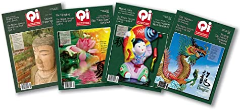 Qi: The Journal of Traditional Eastern Health & Fitness. Year 2011 Back Issue Set of 4