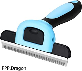 PPP.Dragon Pet Grooming Brush - Long & Short Hair Pet Grooming & Shedding Brush Tool for Small, Medium and Large Dog and Cat Brush