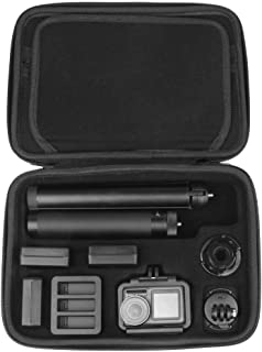 Anbee Osmo Action Camera Carry Case Large Capacity Waterproof Travel Handbag Storage Box for DJI Osmo Action Camera and Ac...