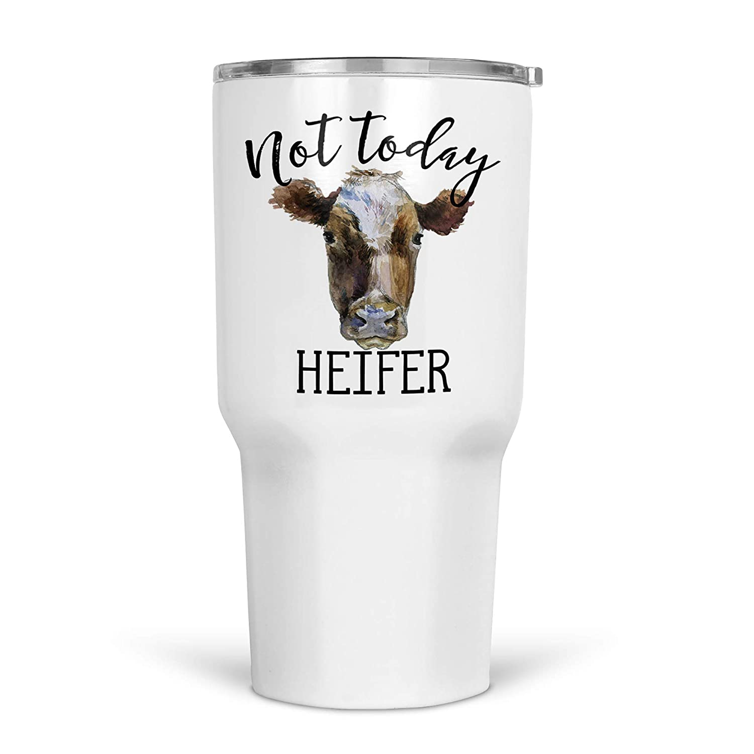 Popular products Not Today Heifer Tumbler with Steel Insulated Wholesale Tumb Lid Stainless
