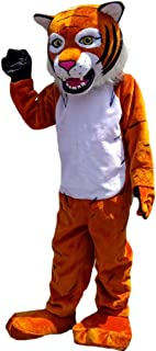 Tiger Wildcat Cartoon Mascot Costume Real Picture 15-20days delivery Brand