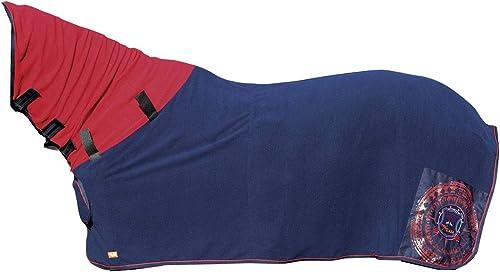 HKM 4057052282362 Couverture de Sudation avec Demi-tête Bleu foncé 165