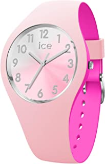 62bd88546 Ice-Watch - ICE duo chic Pink silver - Women's wristwatch with silicon strap  -