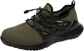 Men's Solid Mesh Lace-Up Sneaker Flats Sports Casual Breathable Lightweight Walking Outdoor Running Shoes