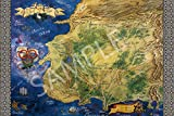 Best Print Store - Wheel of Time Map Poster (18x24 inches)