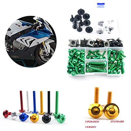 Motorcycle Fairing Bolt Kit Screws Fasteners Fixing Sportbike Pack For Yamaha Honda Kawasaki Suzuki BMW