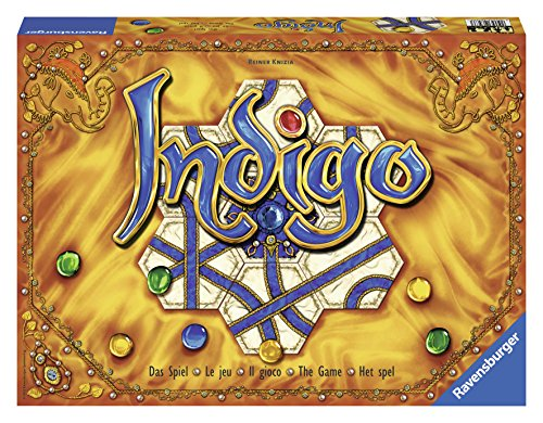 Ravensburger Indigo for Ages 8 & Up - Strategic Family Game of Tile and Gem Placement - http://coolthings.us