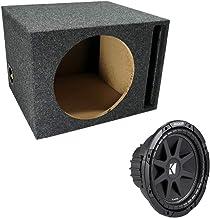 "ASC Package Single 12"" Kicker Sub Box Vented Port Subwoofer Enclosure C12 Comp 300 Watts Peak"