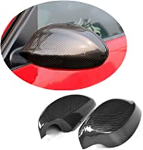 MCARCAR KIT Mirror Cover fits BMW 3 Series E90 Pre-LCI Sedan 2005-2008 Non-M3 Factory Outlet 316i 318i 320i 323i 325i 330i Auto Carbon Fiber CF Rearview Side Rearview Caps Exterior Outside Shell