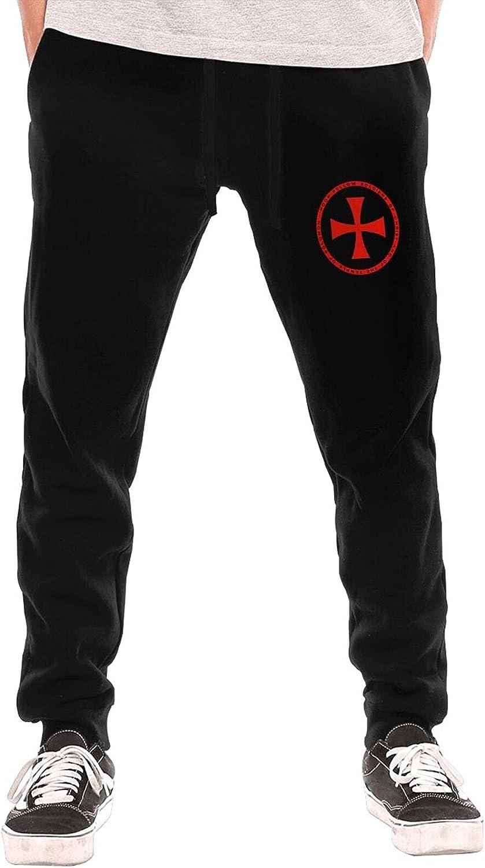 Chuwewebaihu Templar Knights Medieval Shield Men Teen Long Pants Underwear Slacks Fleece Pants