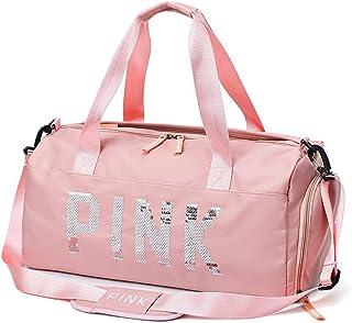 Travel Shoulder Women Handbag Ladies Gym Fitness Sports Bag Shoulder Crossbody Bag - Light