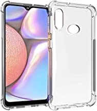 SKTGSLAMY Galaxy A10S Case, Soft TPU Crystal Transparent Slim Shockproof Anti Slip Full-Body Protective Phone Case Cover for Samsung Galaxy A10S (Clear)