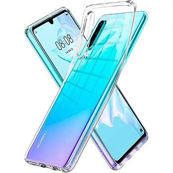 Spigen Liquid Crystal Designed for Huawei P30 Case (2019) - Crystal Clear