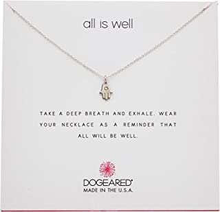 """Dogeared All Is Well-Hamsa Necklace, 16"""""""