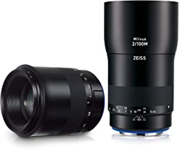 Zeiss Milvus 100mm F/2M ZE Lens (Canon EF-Mount), Black (2096-563)