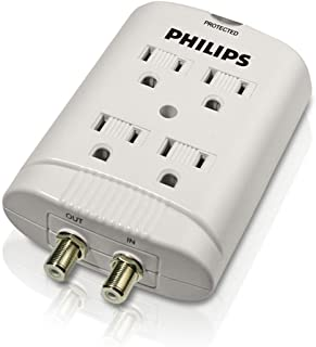 Philips SPP2305WC - Surge Suppressor - 4 Output Connector(s) - United States