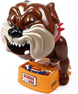 Wenasi Kids Cute Creative Beware of the Dog Party Game Interactive Dog Bite Funny Electronic Dog Toys as Gifts