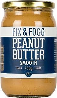 Fix & Fogg Gourmet Smooth Peanut Butter, 750 g