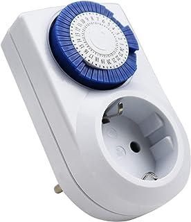 ExtraStar Enchufe eléctrico temporizador digital mecánico de 24 horas 230V 16A …